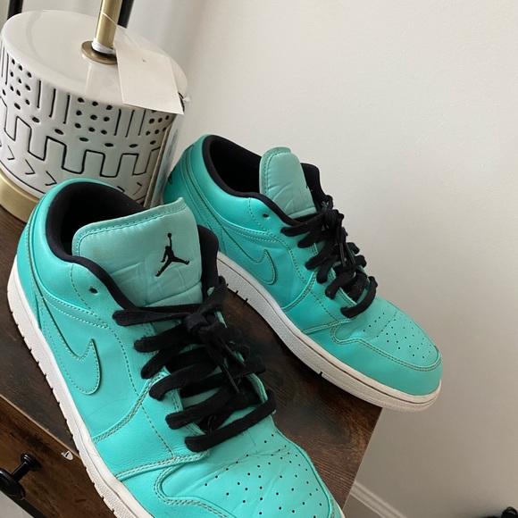 Air Jordan Low Hyper Turquoise   Poshmark